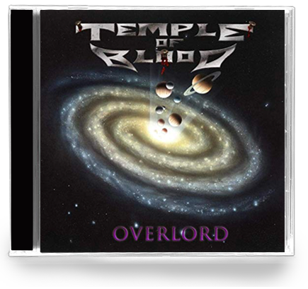 Temple of Blood - Overlord (New-Cd) Thrash Metal - Christian Rock, Christian Metal
