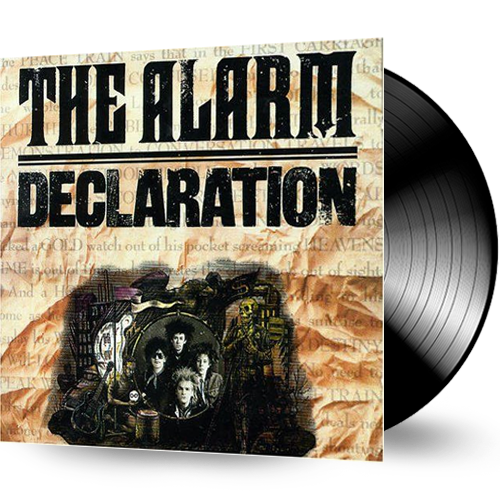 The Alarm - Declaration (Vinyl) Sealed with Hype Sticker MINT!!