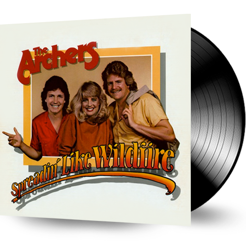 The Archers - Spreadin' Like Wildfire (Used Vinyl) - Christian Rock, Christian Metal
