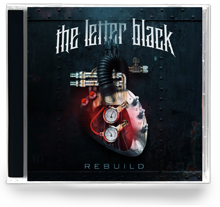 The Letter Black - Rebuild (NEW-CD) 2013 TOOTH N NAIL - Christian Rock, Christian Metal