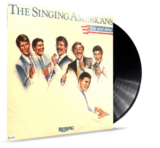 The Singing Americans - Live and Alive (Vinyl). Riversong!!