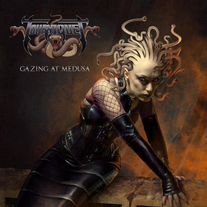 TOURNIQUET - GAZING AT MEDUSA (*NEW-CD, 2018, Pathogenic Records) - Christian Rock, Christian Metal