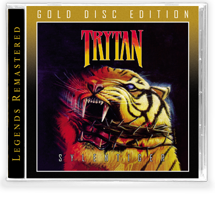 TRYTAN - SYLENTIGER (*NEW-Gold Disc Edition CD, 2020, Retroactive) *Gold Disc Edition - Christian Rock, Christian Metal