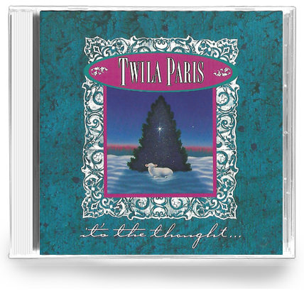 Twila Paris - It's The Thougths (CD) 1989 Star Song - Christian Rock, Christian Metal