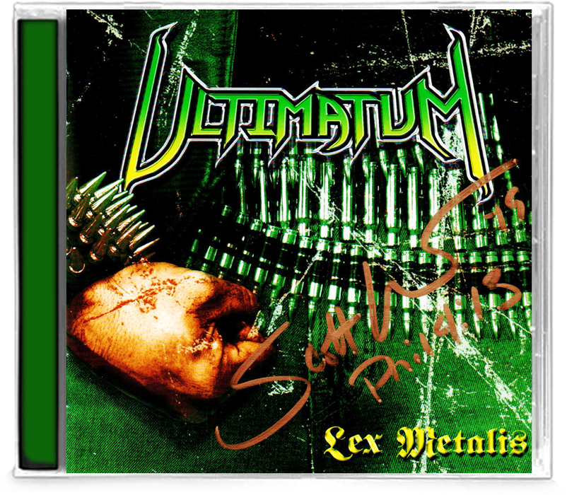 ULTIMATUM - LEX METALIS: 10th Anniversary Ultimate Edition + 2 bonus tracks (*NEW-CD, 2019) - Christian Rock, Christian Metal