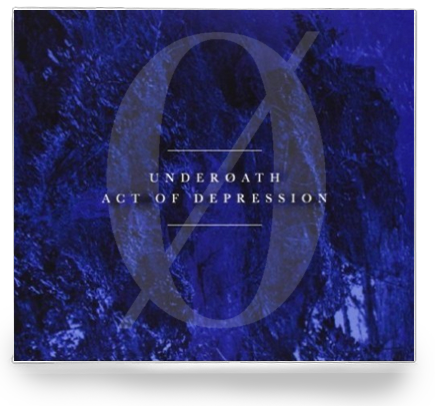 Underoath - Act of Depression (NEW-CD) 2013 REISSUE OF DEBUT ALBUM