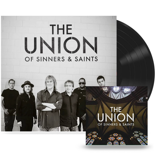 The Union of Sinners and Saints (VINYL+CD Bundle) Petra / Whiteheart - Christian Rock, Christian Metal