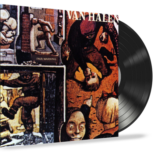 Van Halen - Fair Warning (Vinyl Record LP) 1981 First Pressing With Inner Sleeve
