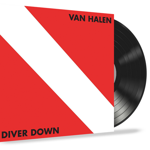 Van Halen - Diver Down (Vinyl Record LP) 1982 Warner - First Pressing, Original Inner Sleeve
