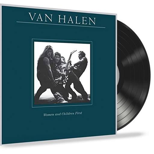 Van Halen - Women and Children First (Vinyl Record LP) 1980 First Pressing