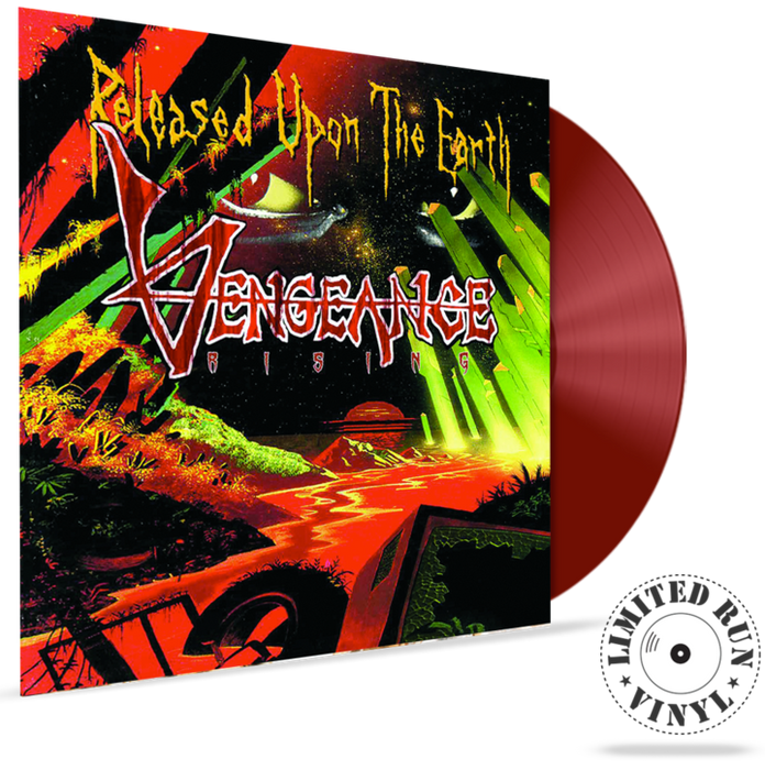 VENGEANCE RISING - RELEASED UPON THE EARTH (180 GRAM LIMITED RUN VINYL) - Christian Rock, Christian Metal