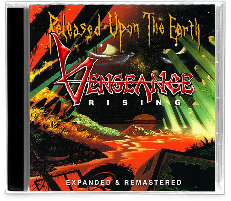 VENGEANCE RISING - RELEASED UPON THE EARTH (2014 Roxx) remastered with bonus tracks - Christian Rock, Christian Metal