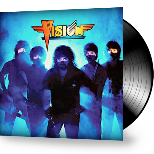 Vision - Self-Titled (Vinyl) Billy Powell of Lynyrd Skynyrd - Christian Rock, Christian Metal