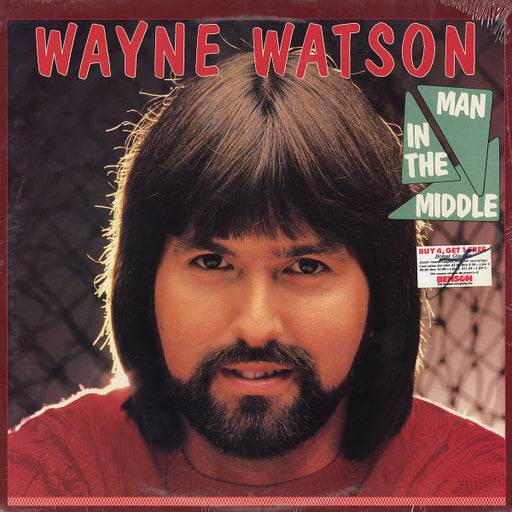 Wayne Watson - Man In The Middle (Vinyl) - Christian Rock, Christian Metal