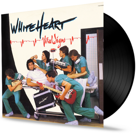Whiteheart - Vital Signs (Vinyl) New/Sealed with Hype. (1984 Home Sweet Home)