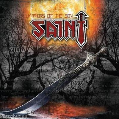 SAINT - WARRIORS OF THE SON (30th Anniversary Edition) (Re-recorded in 2004) - Christian Rock, Christian Metal