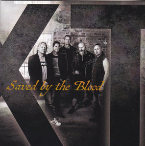 XT - SAVED BY THE BLOOD (*NEW-VINYL, 2017, Talking Music) All-Star Lineup! - Christian Rock, Christian Metal
