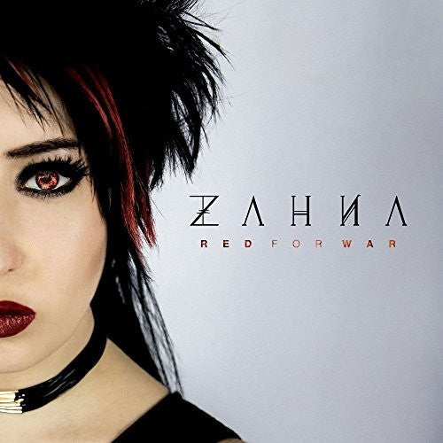 Zahna - Red For War (CD) - Christian Rock, Christian Metal