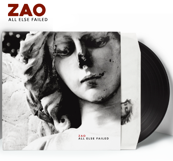 ZAO - All Else Failed (Vinyl) - Christian Rock, Christian Metal
