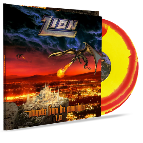 Zion - Thunder From the Mountain 2.0 (GATEFOLD - COLOR SWIRL VINYL)