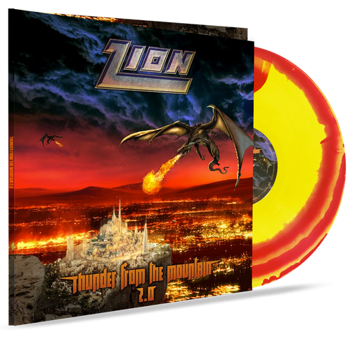 Zion - Thunder From the Mountain 2.0 (GATEFOLD - COLOR SWIRL VINYL) - Christian Rock, Christian Metal
