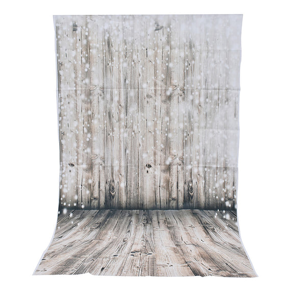 3x5ft Vinyl Photography Background Dreamy Wooden Wall Floor Photographic Backdrop For Studio Photo Prop cloth 90x150cm