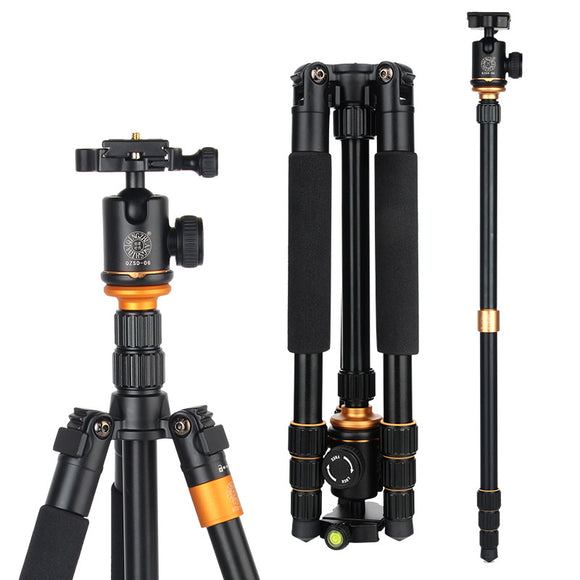 Professional Portable Tripod Change Monopod For Digital SLR DSLR Camera with Ball Head Weight 1.25 KG