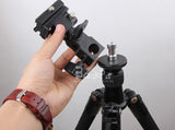 5in1 tripod head monopod flash light stand adapter metal screw kit 1/4 3/8 male female photographic studio accessories