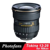 Tokina 12-28mm f/4.0 AT-X Pro DX 12-28 Lens for Nikon Wide angle D3200 D3300 D3400 D5200 D5300 D5500 D5600 D7100 D7200 D500