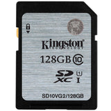 Kingston SD Card 128GB 64GB 32GB 16GB memory card Class10 SDHC SDXC uhs-i HD