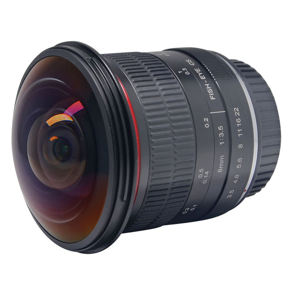 Canon 8mm f/3.5 Ultra HD Fisheye Lens for Canon DSLR,Fixed-Non-Zoom Lens
