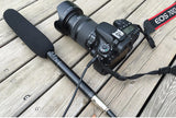 Professional Shotgun Microphone Directional Condenser MIC for DSLR DV Camcorders
