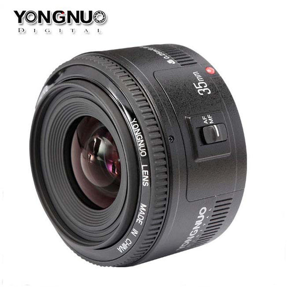 Canon 35mm F/2 Large Aperture Fixed Auto Focus Lens For Canon DSLR Camera