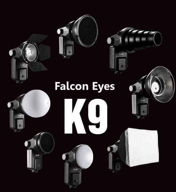 FALCONEYES Speedlite Accessories Kit SGA-K9 for Nikon SB 910 900 800 700 600 Canon 580EX II 430EX II 600EX-RT
