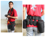 Camera Waist Belt Strap Adjustable Camera Bag Holder Strap