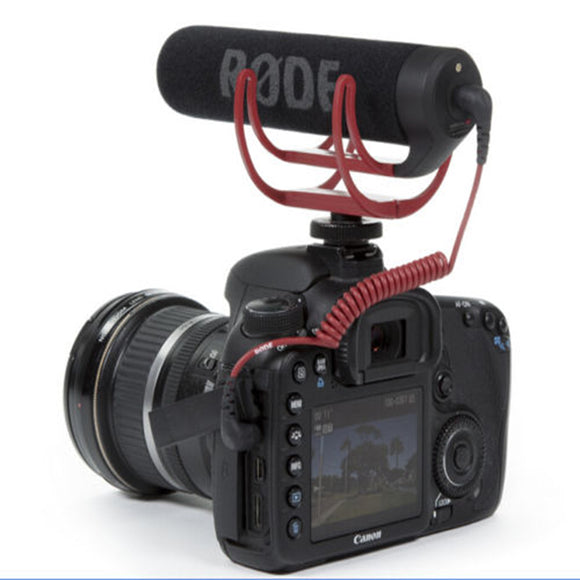 Rode VideoMic Handheld Wired 3.5 mm for Canon Nikon Sony DV DSLR 600D 70D D90 D3S