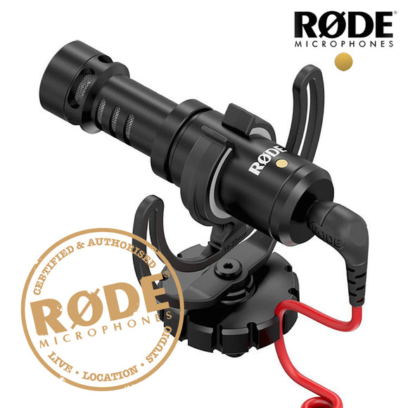 Original Rode VideoMicro Recording Microphone for Canon Nikon DSLR Camera and iPhone Smooth Q