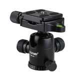 Photography Tripod Ball Head Ballhead+Quick Release Plate