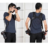 Professional Camera Straps Shock Absorption Pressure-resistance Fast Photograph Double Shoulder Strap