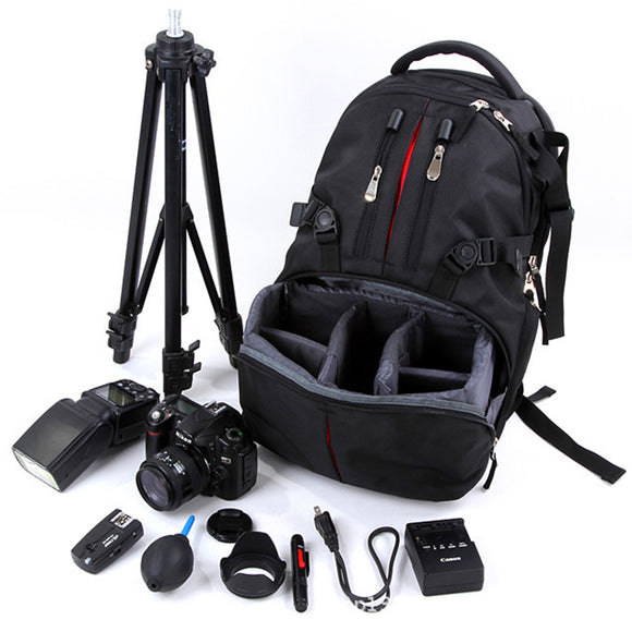 Waterproof DSLR Camera Bags Backpack For Nikon Sony Canon Photo Bag for Camera & Outdoor Travel