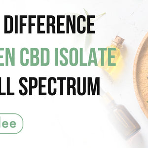 The Big Difference Between CBD Isolate and Full Spectrum