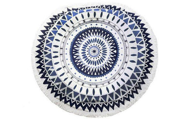 Round Beach Towels With Tassels