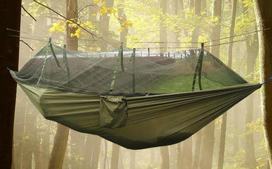 Outdoor Hammock with Double Air Tent