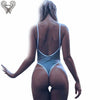 One Piece Thong Swimwear