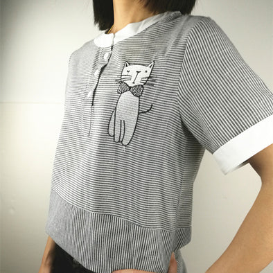 Cat Blouse
