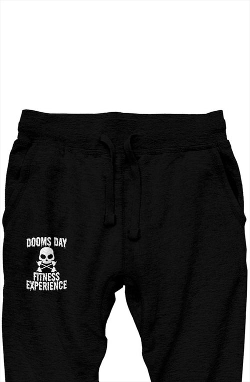 Classic Black Joggers - Doomsday Fitness Apparel by Doomsday Fitness Experience