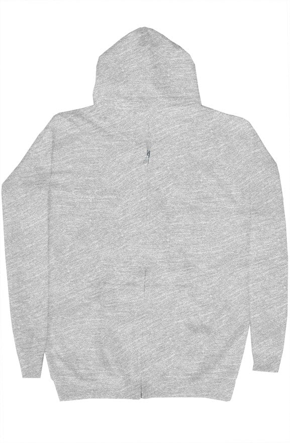 'Savages ONLY' Unisex Grey Zip Hoodie - Savage Season Apparel Store