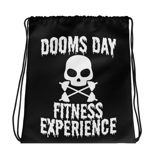 DDFE Drawstring bag - Doomsday Fitness Apparel by Doomsday Fitness Experience