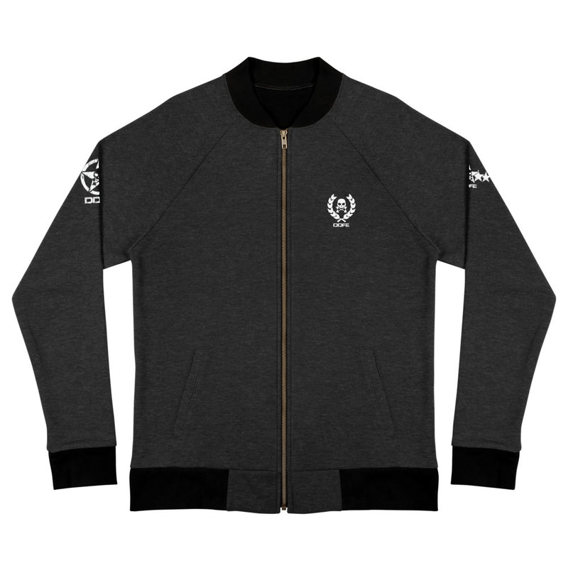 'DDFE' Black Bomber Jacket - Savage Season Apparel Store