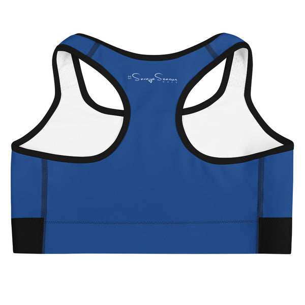 'Savages ONLY' Royal Sports Bra - Savage Season Apparel Store